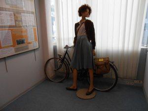 Résistance nationale : Agent de liaison avec son vélo
